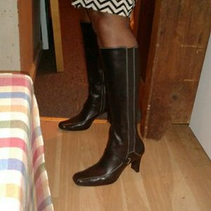 Shoes - Anne Klein boots.